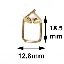 Wire Mold Retainer Clip : suit C-channel : 12.8mm or 18.5mm offset