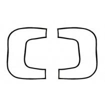 Stop/Tail Light Lens Seal : suit VE Wagon & VE/VF/VG Ute (Lens to Housing)