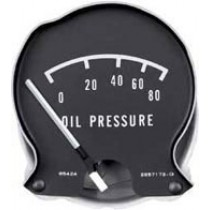 Rallye Dash Oil Pressure Gauge : 1968-70 B-body