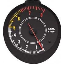 Rallye Dash Tachometer Gauge : 1970-74 E-body