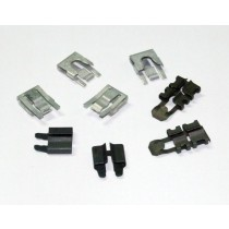 Door Opening Latch & Lock Linkage Clip Set : 1966-70 Dodge & Plymouth