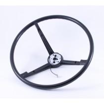 3-Spoke Enamel Steering Wheel : 1966-70 B-body & C-body