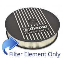 Air Cleaner Element : suit Mopar Alloy Air Cleaner