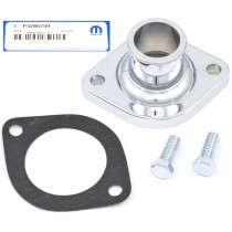 Mopar Performance Chrome Thermostat Housing : Suit Small Block and Big Block (Mopar Part# P4286759)