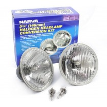 "Narva Halogen Headlamp Conversion Kit : 5-¾"" H1 (146mm - High 100w)"