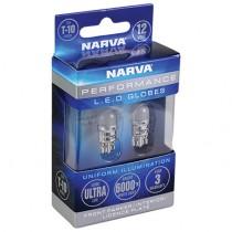 T10 Wedge Bulb : LED Twin Pack : for Instrument Cluster Dashboard Back Light Globe : suit VG/VH/VJ/VK/CL/CM