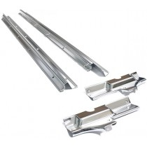 Reproduction As Per Genuine Alloy Door Entry Scuff Plate Set : Suit all Charger models