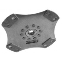Clutch Plate  - Solid Center Cerametallic Button
