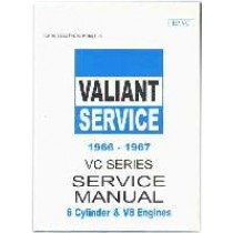 Workshop Service Manual : Valiant 1966-1967 VC