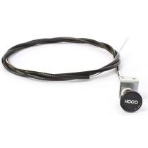 Reproduction Bonnet Release Cable : suit VF/VG (metal bracket, round knob)
