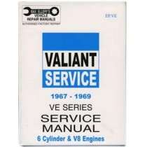 Workshop Service Manual : Valiant 1967-1969 VE