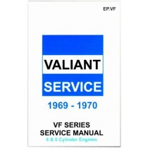 Workshop Service Manual : Valiant 1969-1970 VF