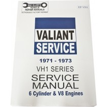 Workshop Service Manual : Valiant 1971-1973 VH (book 1)