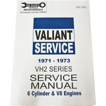 Workshop Service Manual : Valiant 1971-1973 VH (book 2)