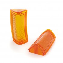 Factory Correct Reproduction Front Indicator Lens - ORANGE : suit VJ/VK (HP's New Mold-Injected Lens Range)