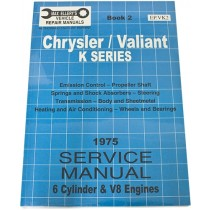 Workshop Service Manual : Valiant 1975 VK (book 2)