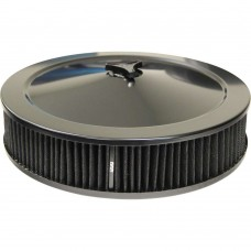 14 x 3 inch All Black Air Cleaner and Element.jpg